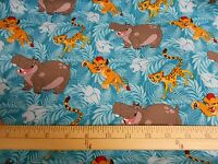 1 Yard Disney Lion King lion Guard Friends Packed Fabric