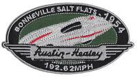 Austin Healey Bonneville Salt Flats 1954 Record Run Embroidered Patch