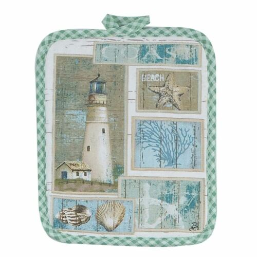 Lighthouse Theme Pot Holder R2352