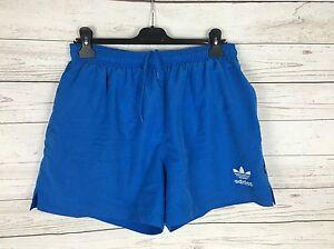 29226e253c Men's Adidas Retro Swim Shorts - Size W32 - Blue - Great Condition ...