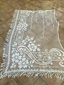 créations ou rallonge rideau ??? pa r  3m   x24cm de large  guipure filet