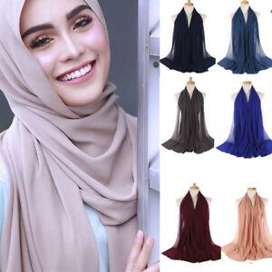 Women-Premium-Viscose-Maxi-Crinkle-Cloud-Hijab-Scarf-Shawl-Soft-Islam-Muslim-AU
