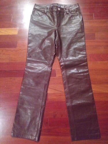 Brown Blødt lommer Og Bootcut Jeans Foret Bukser 4 Womens 5 Gap Størrelse Læder ZqYvnwCEC