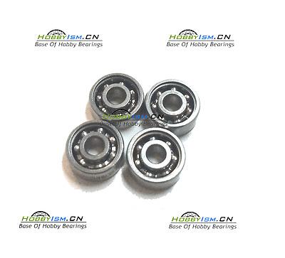 10pcs Hybrid Ceramic Stainless Fishing Reel Bearing SMR104C 2OS 4x10x4 Lube Dry