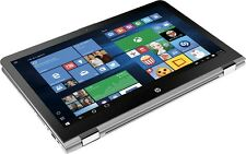"HP Envy x360 Touch 15t Laptop 15 Convertible 15.6"" 1080P i7-7500U 16GB Backlit K"