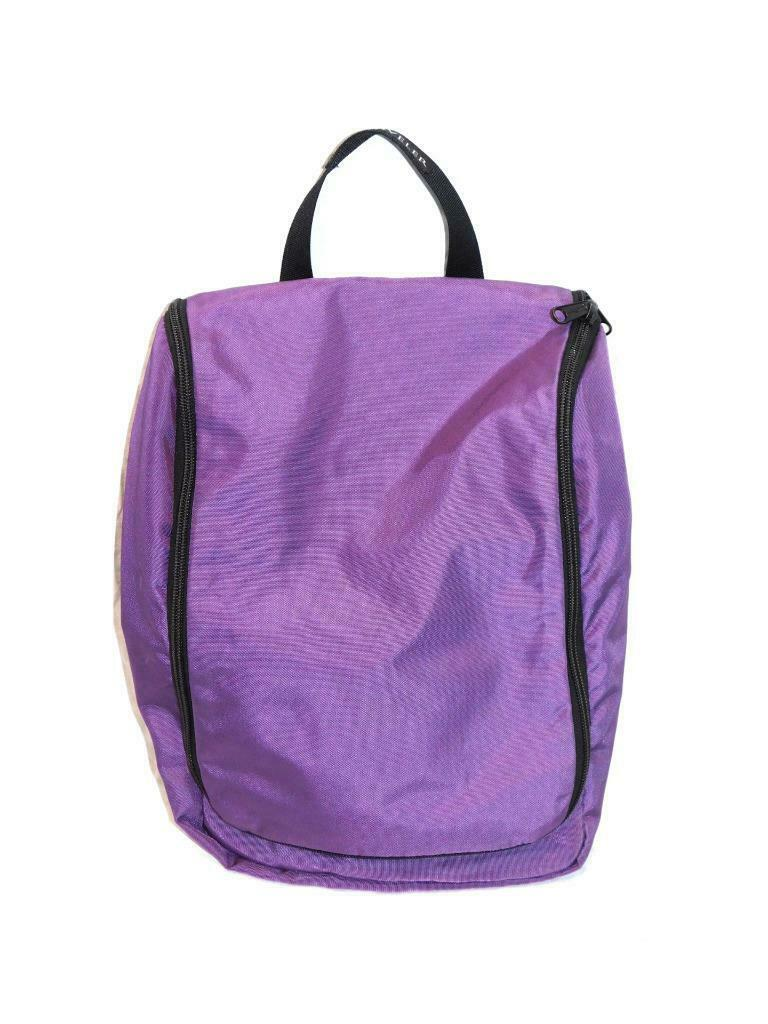 LL Bean Purple Traveler Toiletry that is hanging Bag private Organizer... - s l1600