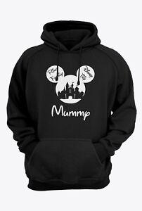 Disney Family Hoodie Disney Hoodies Mickey and Minnie Head Custom Disney Trip