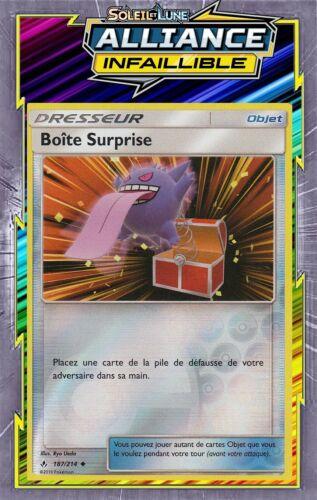 187//214-Carte Pokemon Neuve FR Boîte Surprise Reverse-SL10:Alliance Infaillible