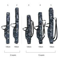 Fishing Rod Case Carry Bag Storage Organizer Portable Tackle G5d5