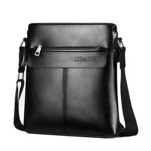 Men-039-s-Leather-Satchel-Business-Shoulder-Bag-Briefcase-Messenger-Crossbody-Bag