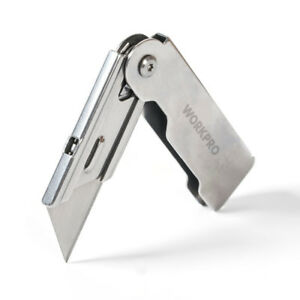 Compact Folding Utility Knife Lock Back Pocket Mini
