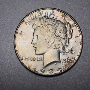 1934-Peace-Dollar-1-Uncirculated-Nice-Toning