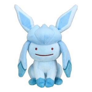 Pokemon-Center-Original-Plush-Doll-Transform-Ditto-Glaceon-Glacia