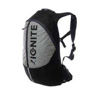Image is loading Puma-Ignite-Lightweight-Backpack-Black-Running-Reflective- Bag- 8e131d521e907