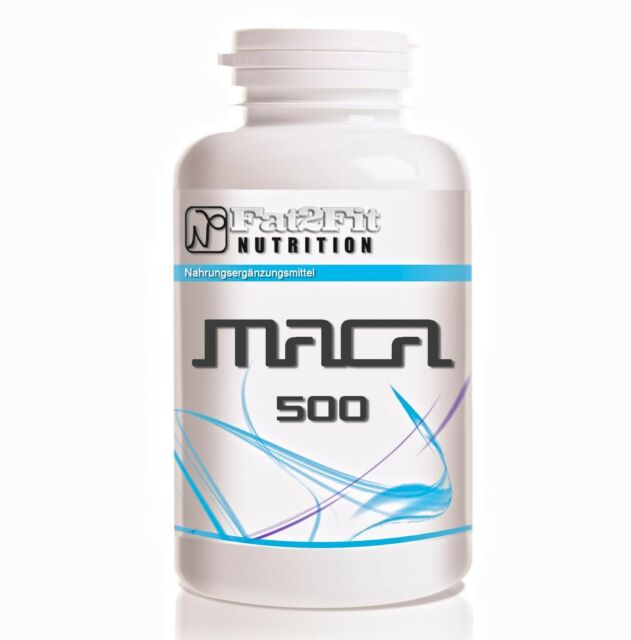 MACA (8,55€/100g) 250 Tabletten je 500mg / Konzentration