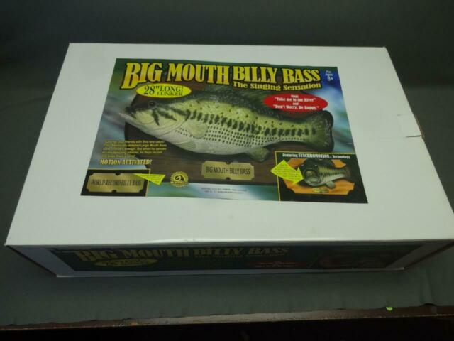 Billy Big Mouth Bass Singing Sensation Fish 28