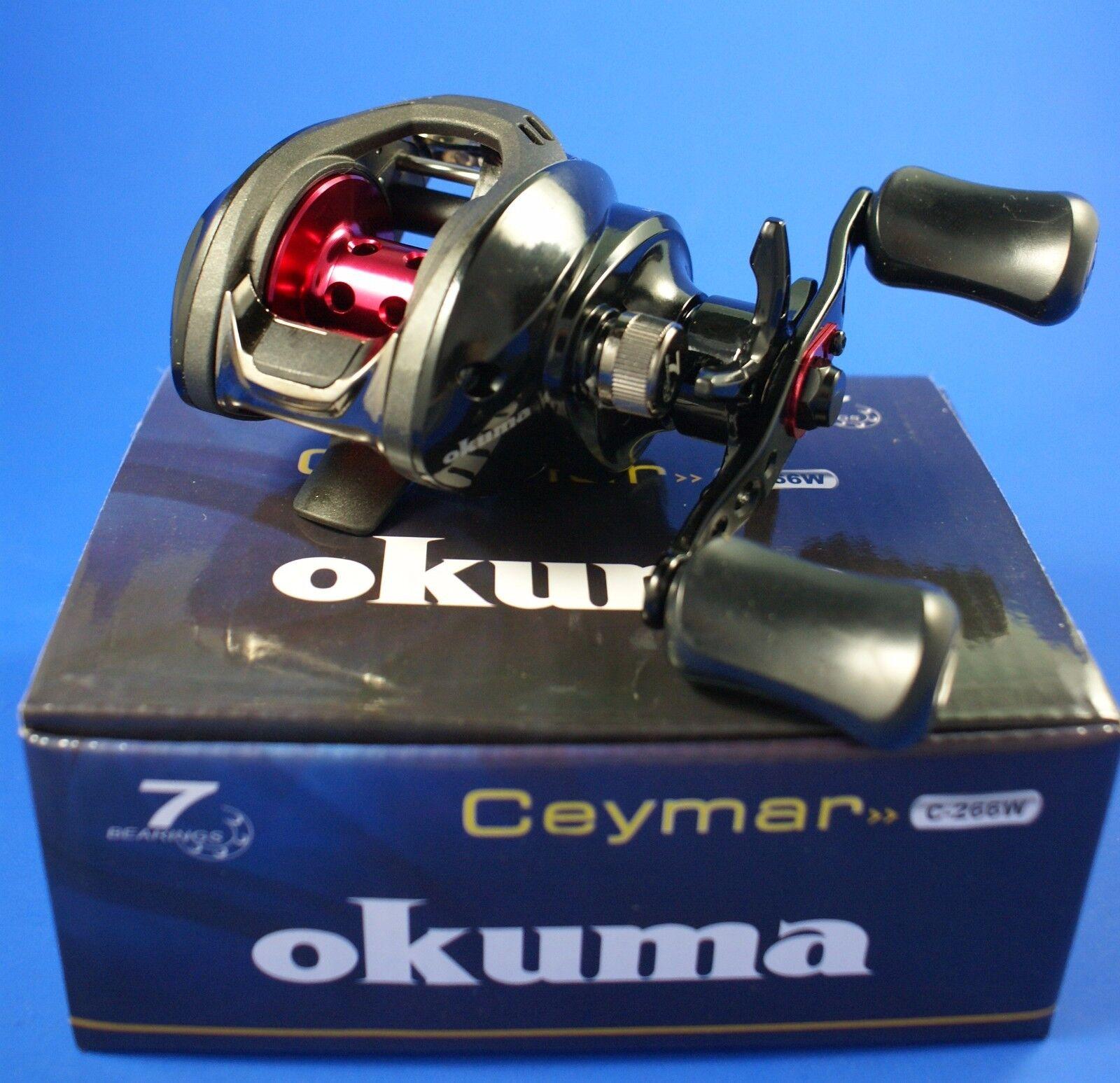 Okuma Ceymar LowProfile C-266W 6+1BB 6.6 1 54294 Baitcasting Fishing Reel RH