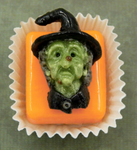 Hulet Glass Evil Witch Petit Four Chocolate Treat 25-601G