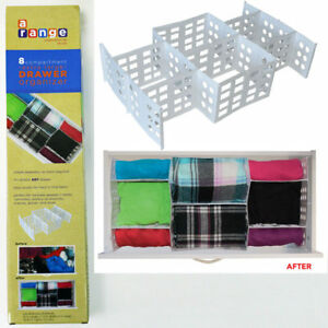 Drawer-Divider-Organizer-Container-Bra-Socks-Ties-Underwear-Closet-Storage-Box