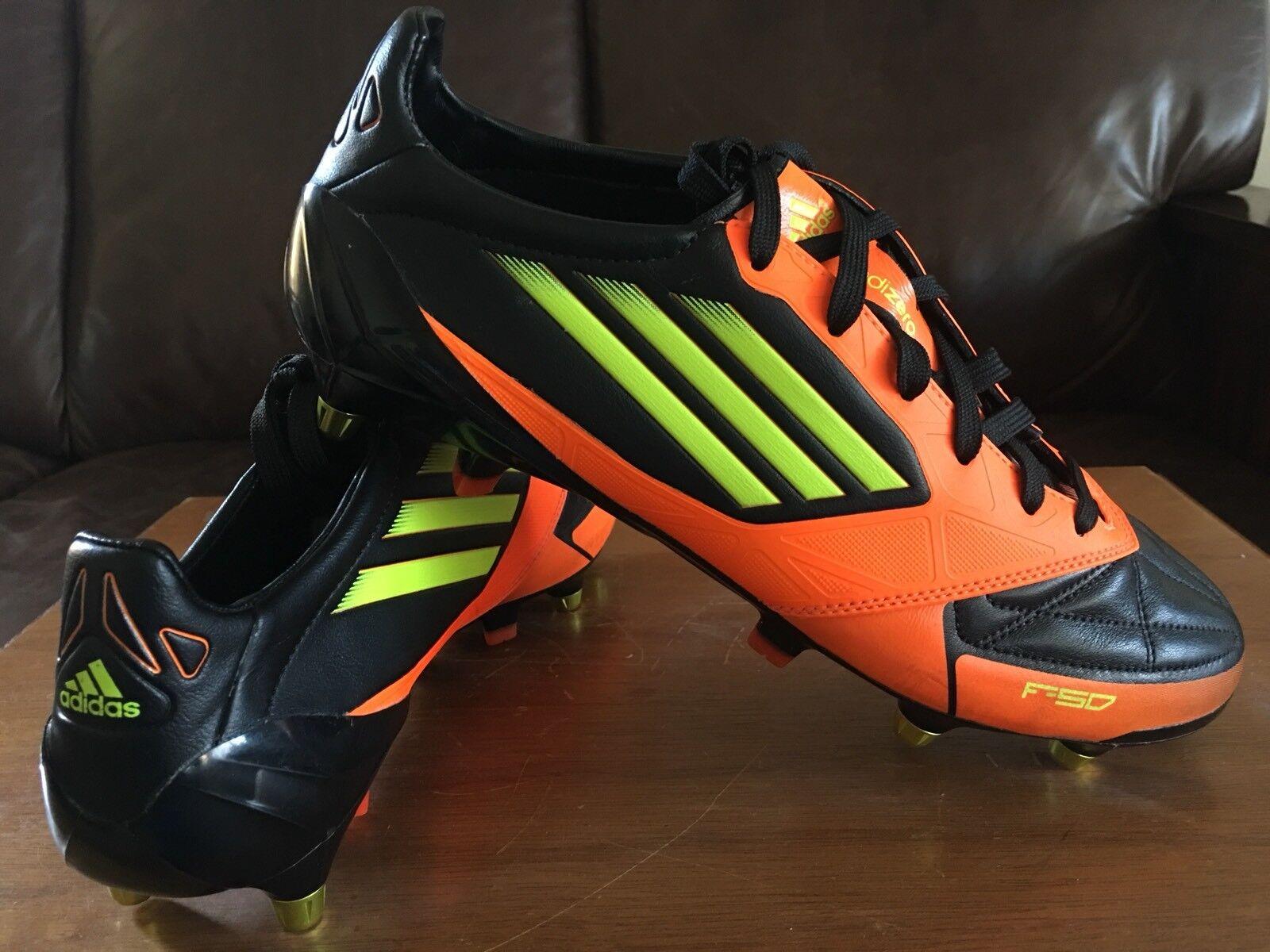 Adidas Adizero F50 Cuero Sg Fútbol Zapatos