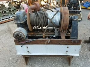 Details about Tulsa Winch Model 34F - 30,000LBS - Great Condition