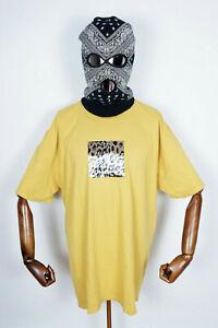 Huf Worldwide Skateboard T-Shirt Tee Panthera Box Logo Sauterne in XXL