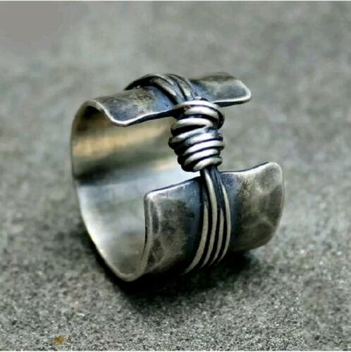 Solid  925 Sterling  Silver Band Ring Handmade Ring 925 Silver Ring  as215487