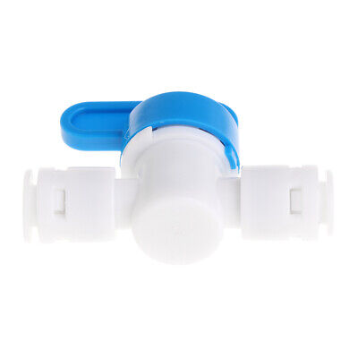 1//4/'/' Inline Ball Valve Quick Connect Shut Off for RO Water Reverse Osmosi SE