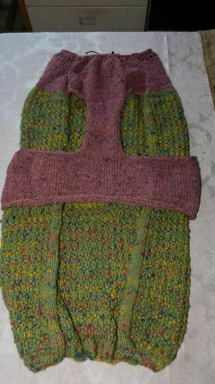 NEW - Hand Knitted Sweater for Medium to Large Dog