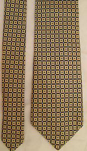 AUTHENTIQUE-cravate-cravatte-CHAPS-100-soie-TBEG-vintage