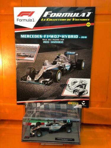 FORMULA 1   1// 43 N°101 MERCEDES  F1  WO7 HYBRIO 2016  NICO ROSBERG NEUF