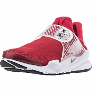 10932aecb9d MSRP 130.00 NEW Nike Sock Dart Gym Red Black White Mens Shoes Size ...