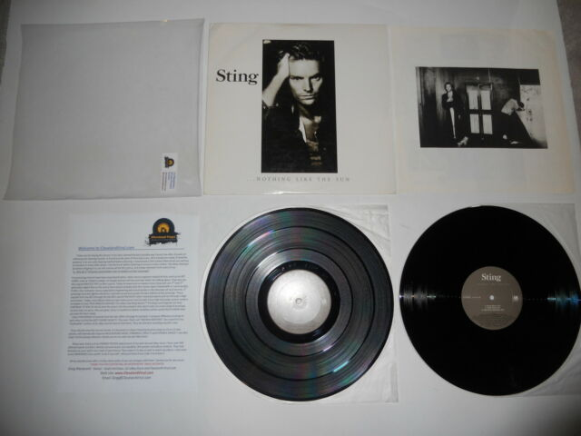 Sting Nothing Like the Sun CRC '87 VG++ Press  2 LP Ultrasonic CLEAN