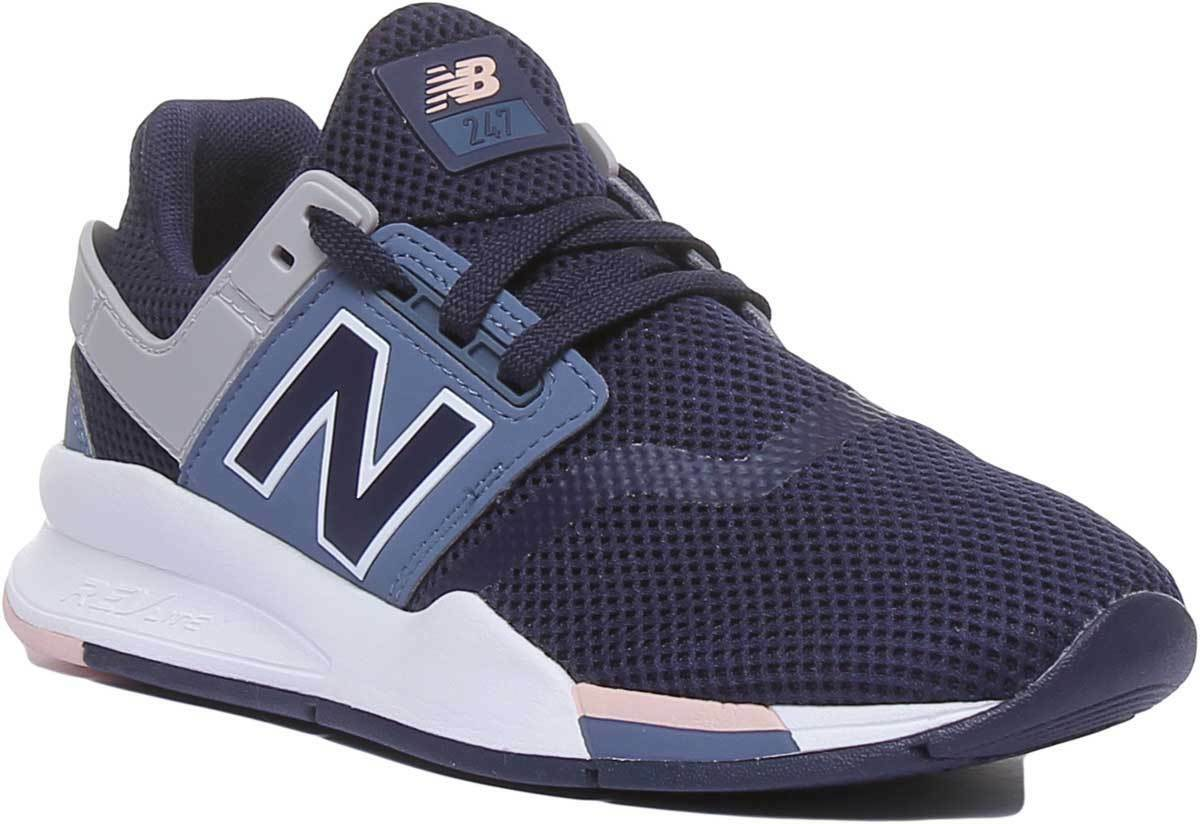 New Balance 247 Baskets En Bleu Marine