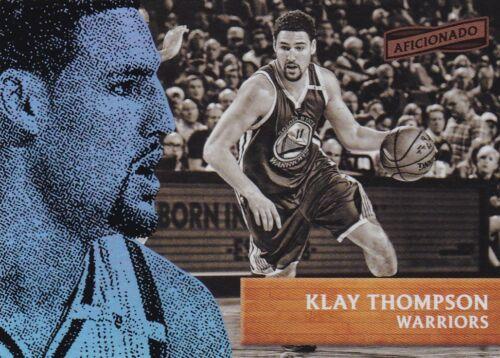 #71 Klay thompson 2016-17 Panini aficionado baloncesto Walker