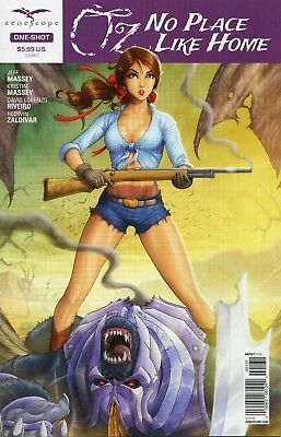 Oz No Place Like Home One-Shot Cover B Zenescope Variant CB5837
