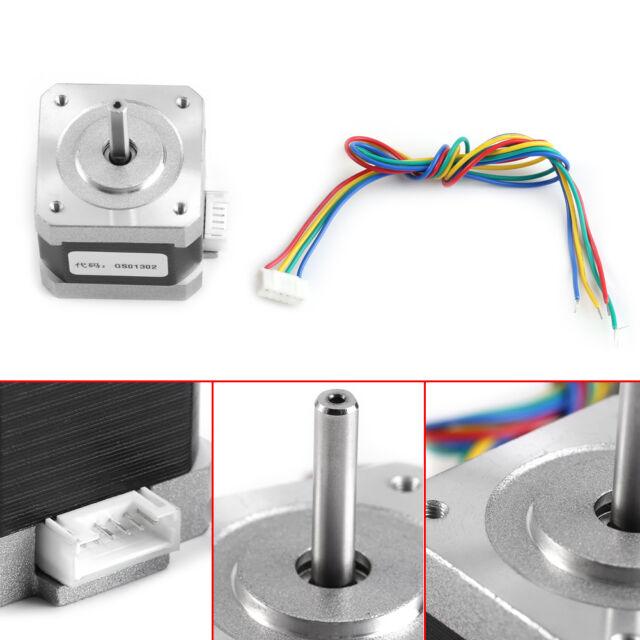 17HS4401 4-wire Nema17 Stepper Motor 1.7A For 3D Printer and CNC 42*42mm