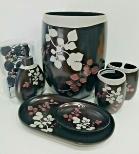Vine Leaf Amethyst Accessory Set Collection Bed Bathroom Accessories Home Decor Ebay