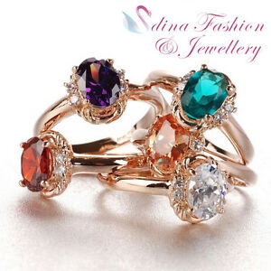 18K-Rose-Gold-Plated-AAA-Grade-Cubic-Zirconia-Exquisite-Oval-Cut-Ring