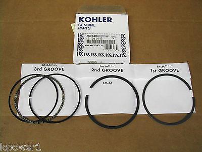 12 108 07-S KOHLER PISTON RING SET STANDARD /& .08 1210807S CH15 CV16