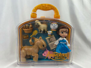 Disney-Belle-Mini-Animator-039-s-Collection-Doll-Playset-NEW-Beauty-amp-the-Beast
