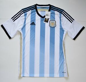 0e978ba310b Image is loading AUTHENTIC-ARGENTINA-2014-WORLD-CUP-HOME-JERSEY-SS-