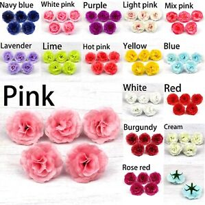 50-100Pcs-Silk-Rose-Bud-Heads-Artificial-Fake-Flower-Wedding-Party-Decoration