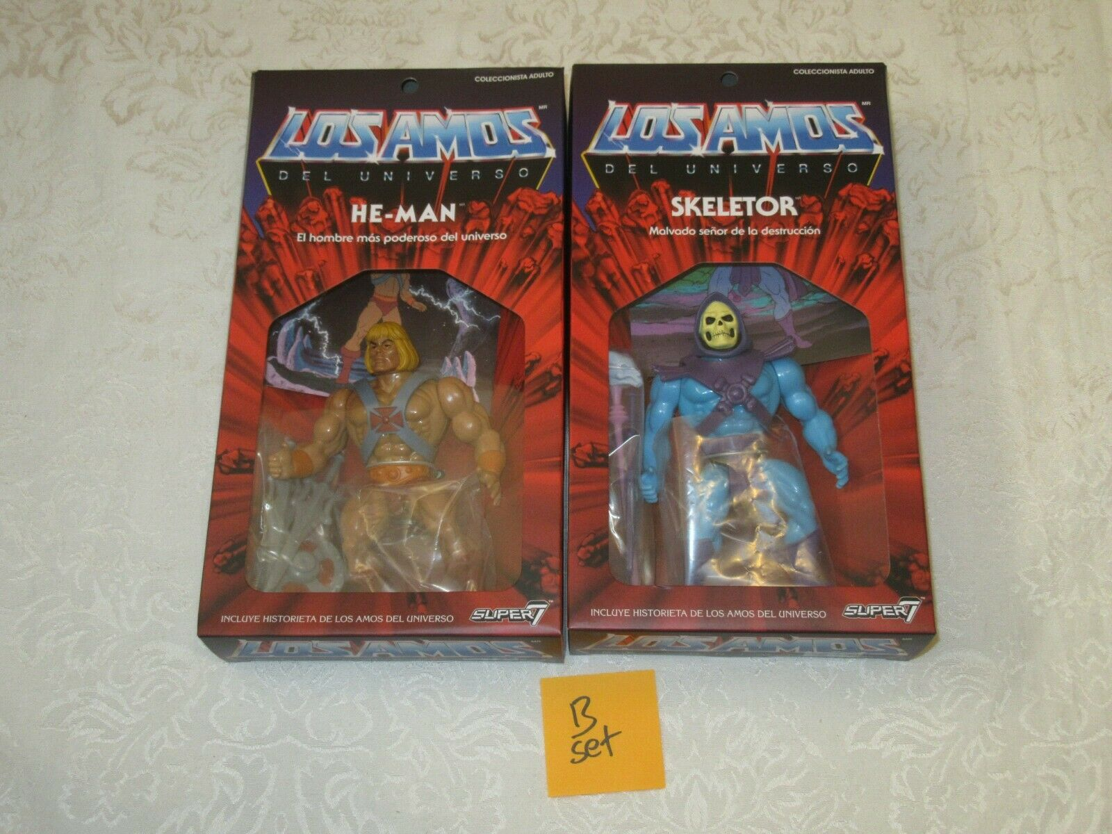 Super7 Masters of the Universe Classics Vintage Style Los Amos He-Man Skeletor B