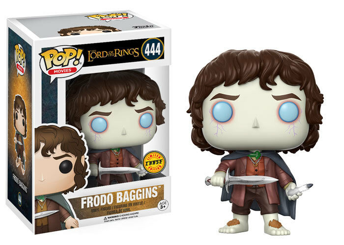 POP Vinyl Lord Of The Rings Frodo Borsagins  444 Chase Limited Rare Funko Official