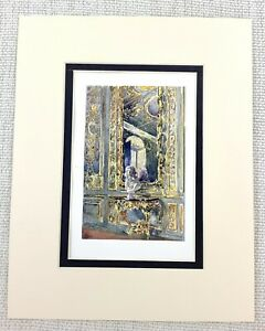 Madame Adelaide's Drawing Room The Palace of Versailles Antique Print Ca. 1906