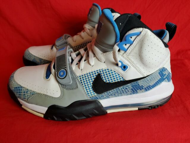 new appearance entire collection casual shoes Nike Air Max More White/blue 898013-101 US Men Sz 13 for sale ...