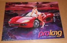 Prolong Super Lubricants – Johnnie Ferrari Poster 1998 Original 24x18