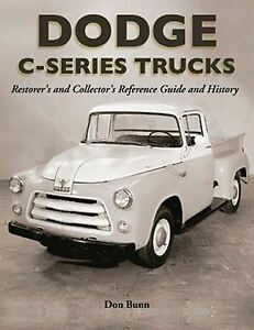 1954-1955-1956-Dodge-Truck-Restoration-Reference-Guide-Book-C1-C3-Manual-6-8-Cly