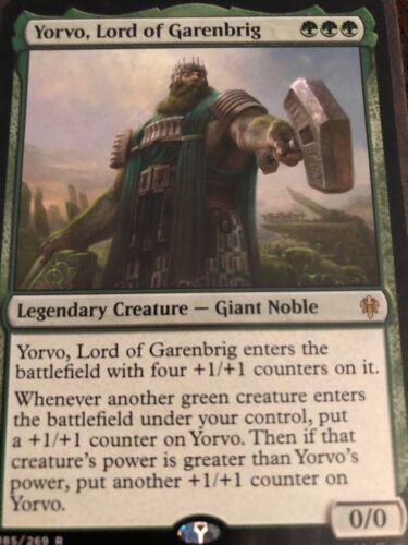 Yorvo Lord of Garenbrig 100 Custom Commander Edh Commander Deck With Rares And F
